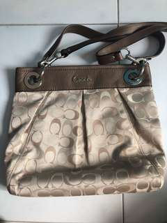 AUTHENTIC Coach Bag <Sling/ Handcarry>