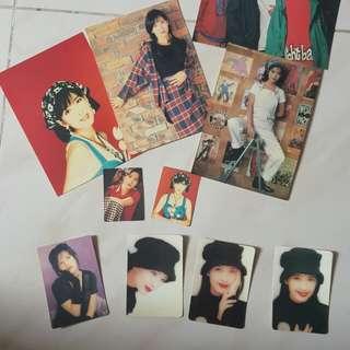 Yes! 周慧敏postcard, 白卡及mini卡