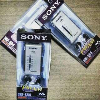接收廣播清晰 Sony srf-s84 Dse 聆聽考試必備 收音機