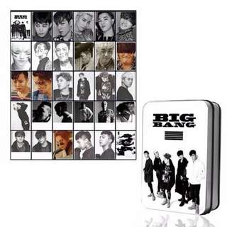 BIG BANG POLAROID 30PCS