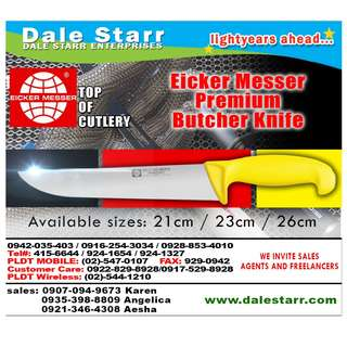 Eiker Messer Premium Butcher Knife