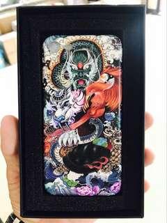 青龍白虎iPhone手機殼, 電話套,半包硬殻, 全包軟殼