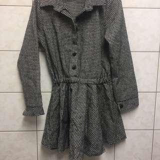 🚚 千鳥紋洋裝 #新春八折