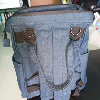 Insular diaper bag