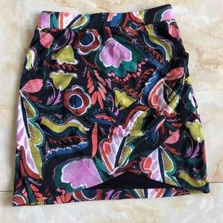 rok batik ZARA ORIGINAL