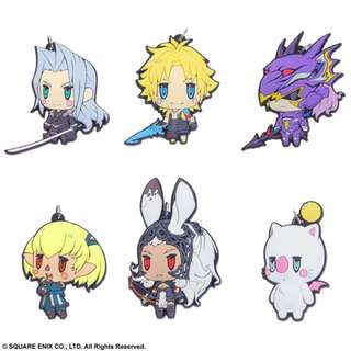 Final Fantasy - Trading Rubber Strap Vol.3 6Pack BOX
