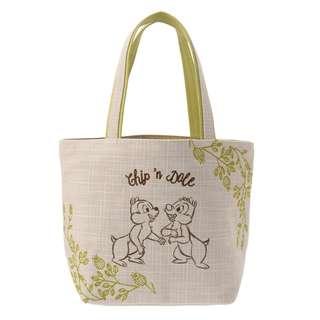 日本 Disney Store 直送 Chip n Dale 自然系列側揹袋