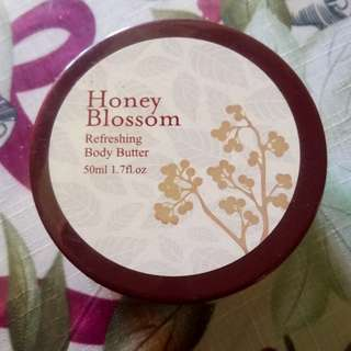 Refreshing body butter