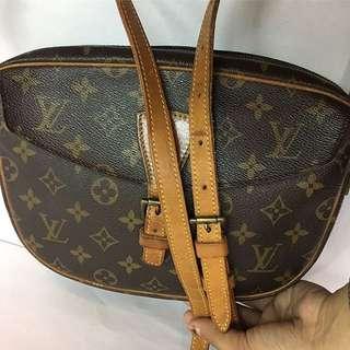 Authentic Louis Vuitton Jeune Fille GM Crossbody Bag