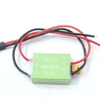 5V/12V-2A BEC for FPV/video transmission