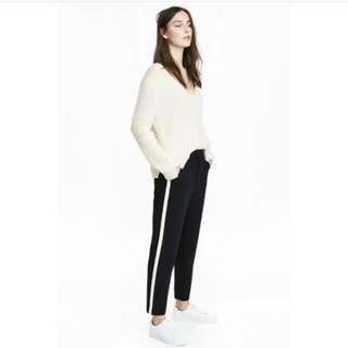 Celana H&M List Hitam