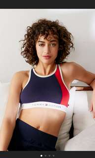 ‼️For Preorder‼️ Tommy Hilfiger High-Neck Bra