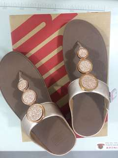 Fitflop Rose Gold Sandals