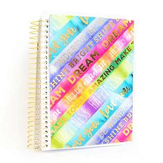 Creative Year Watercolor Washi Mini Planner by Recollections