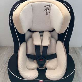 Good as New!! Great Condition!! Daiichi My First Seven Organic Black Car Seat.