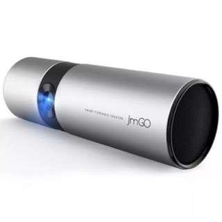 堅果(JmGO)P2 家用 投影機 投影儀(1280P x 720P分辨率 辦公/手機/微型/便攜投影 智能影院)