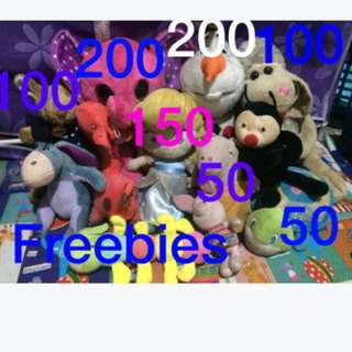 Pre loved stuff toys