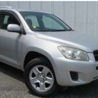 Toyota Rav 4 Rental CNY available!