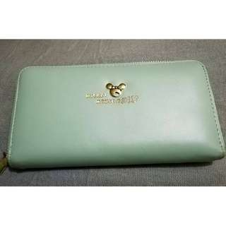 Mint Green Mickey Mouse Wallet