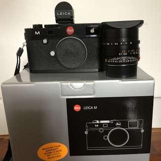 Leica M240 + 35mm f1.4 Summilux-M + EVF 2 viewfinder set