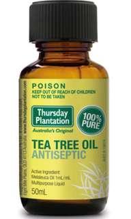 Thursday Plantation Tea Tree Oil 50ml Bottle