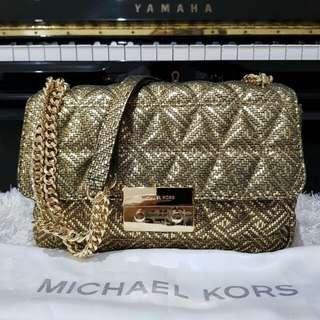 Michael Kors Sloan Large Gold