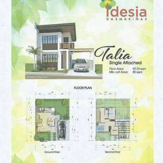 Idesia - affordable House&Lot in Dasmarinas Cavite