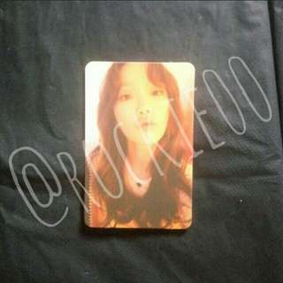 [TAEYEON] My Voice Official Photocard