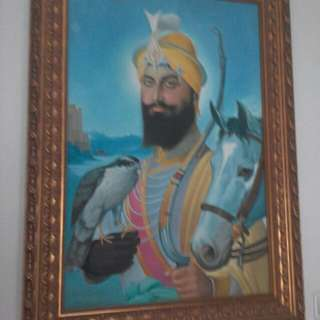 Oil Painting of Shri Guru Gobind Singh Ji