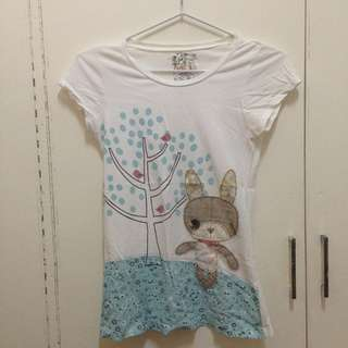 Just G bunny shirt
