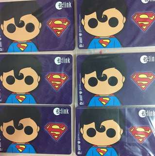 Limited Edition brand new DC Comics Superman Design Ezlink Card For $18.