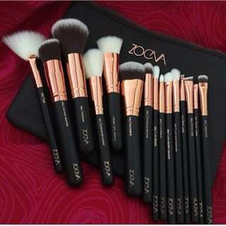 Zoeva 15pcs. Makeup Brush Set