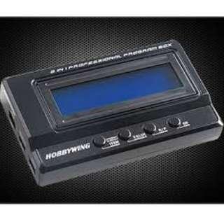 HobbyWing 2-in-1 Advanced Professional LCD Program Box