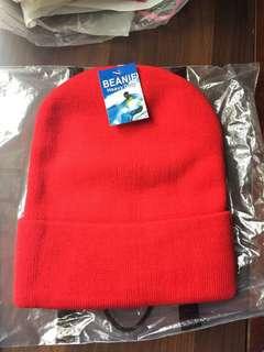 紅色冷帽 100% New