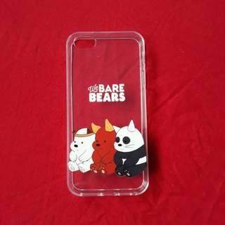 We bare bears clear case (ip 5/5s/5se)