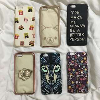 Iphone 6/6s Cases - 60php EACH / 2 for 100