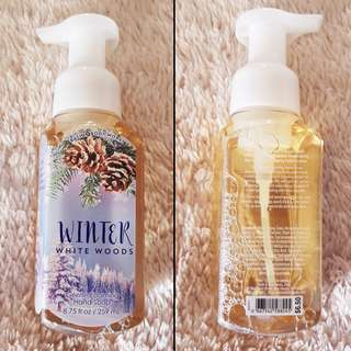 Bath & Body Works Gentle Foaming Hand Soap - Winter White Woods