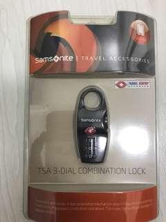 TSA Samsonite Travel Lock