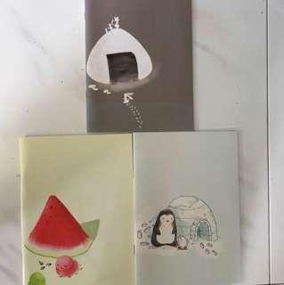 Cute design notebooks