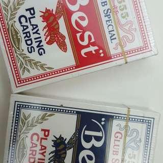 555 派克牌 兩盒 30元
