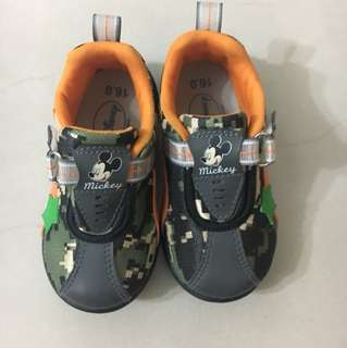 Mickey Mouse Camouflage Shoe