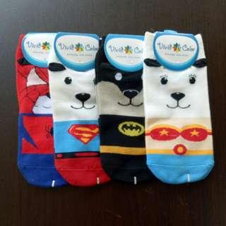 Bear Hero Sock (4 for $10.00)