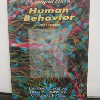 Psychological Bases of Human Behavior Book