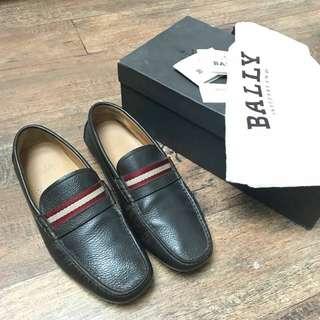 Pre Bally mens shoes sz US 8 / EU 7 / FR 41 dark brown (db box)