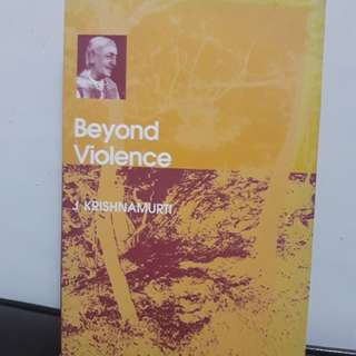 Beyond Violence Book