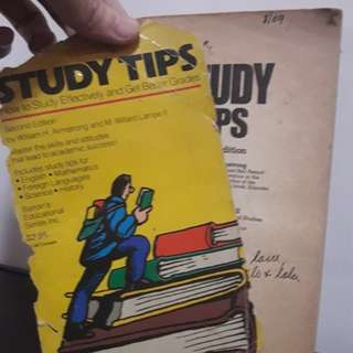 Study Tips Book