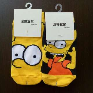 Simpson Sock (2 for $6.00)