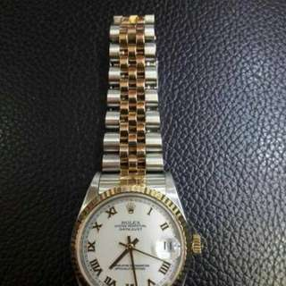 Rolex boysize combi 2004,watch only