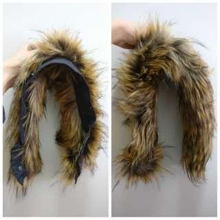 Aigle jacket fur extension