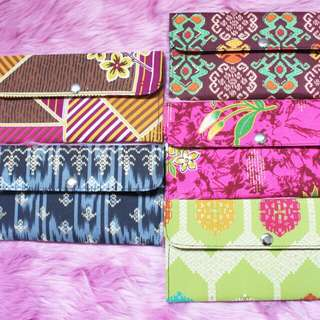 TRIBAL AND FLORAL WALLET